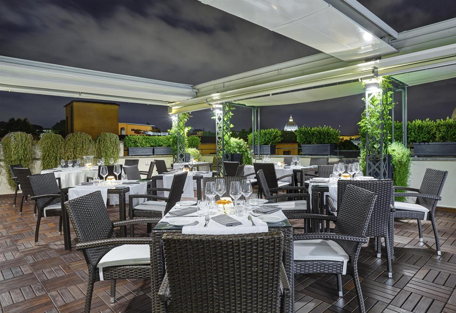 Roof Terrace Restaurant